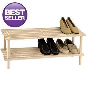 2-Tier Shoe Rack £3.97 at Asda
