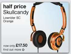 50% off selected Skullcandy headphones @ HMV