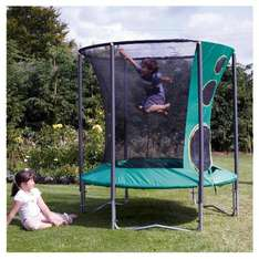 6ft trampoline with enclosure £32 instore @ Tesco