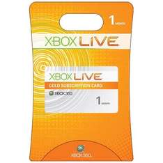 1 Month Xbox Live Subscription - £1 @ Xbox Dashboard