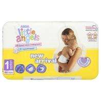 44 x Little Angels Size 1 Newborn Nappies £1 at ASDA - In Store and Online