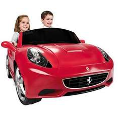 Kids Ride On Electric Car Famosa California Ferrari