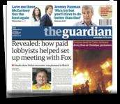 The Guardian •  iPad edition FREE for 3 months
