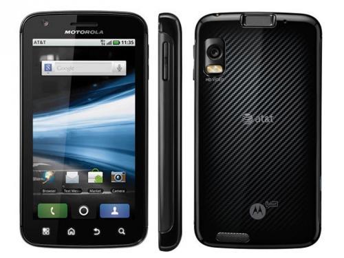 Motorola Atrix mobile phone at £234.85 (+£9.95 del) @ Micom