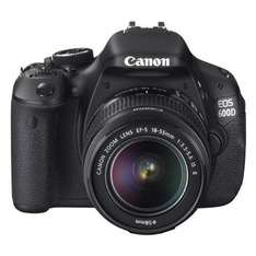 Canon EOS 600D with 18-55mm IS Lens with FREE Velbon DF-50 Tripod £639 @ jessops 8% quidco as well