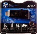 4GB Black USB Flash Drive Memory Stick from WH Smiths £7.99 (was £24.99)