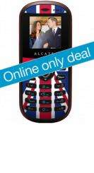 Mobiles.co.uk - Alcatel OT209 Sp. Edition Royal Wedding Phone - pay as you go for £11.00 including £10.00 Airtime credit