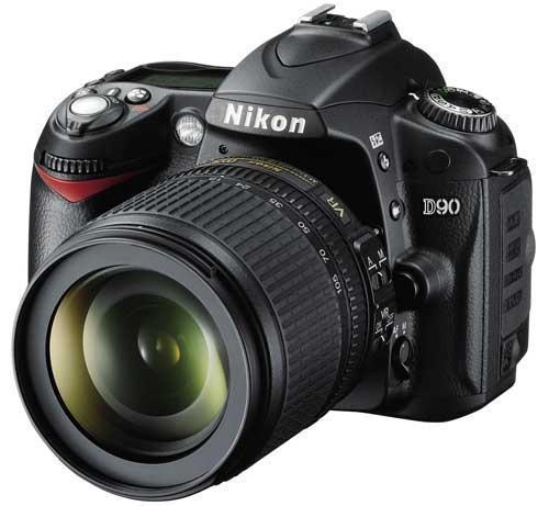 Nikon D90 + 18-105 kit LENS £415.66 + Cashback @ jessops online