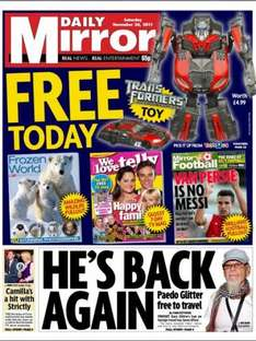 Saturday newspaper offers - see post - Mirror/ Telegraph/ Mail/ Express/ Star/ Sun