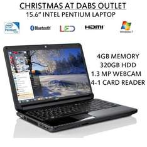 "Fujitsu AH530 15.6"" Intel Pentium Win7 Laptop - 4GB, 320GB £279.96 @ eBay/Dabs outlet"