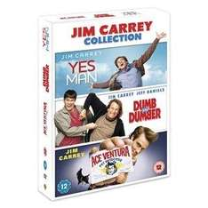 Jim Carrey/Ace Ventura DVD Triple Box Sets (3 Discs) £5.99 @ PLAY.com