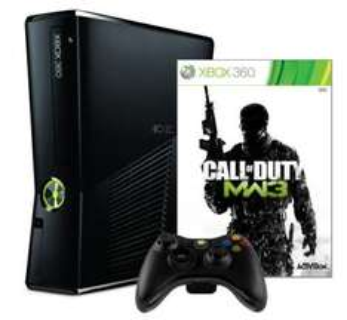 Xbox 360 250GB Matte Black Console Bundle + Call of Duty Modern Warfare 3 £199.99 @ Zavvi / Ebay