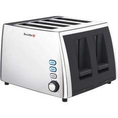 BREVILLE VTT273 4 SLICE TOASTER @ Comet £17.99 and free home delivery