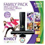 Xbox 360 250GB with Kinect, Kinect Adventures, Dance Central 2, Kinect Sports & Kung Fu Panda 2 @ Tesco direct £295