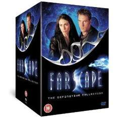 Farscape - The Definitive Collection + The Peacekeeper Wars [DVD] AMAZON £44.97