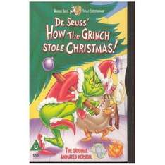 How The Grinch Stole Christmas (Animated version) - Play.com £1.99 delivered (plus Quidco)