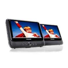 Nextbase NB49AM Twin Screen 9-inch Portable DVD Player with Car Mounts and Power Cable - £117.71 @ Amazon