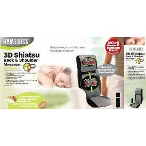 HoMedics SBM-600H-GB Shiatsu Ultimate Back and Shoulder Massager NOW £99.99 on Amazon UK