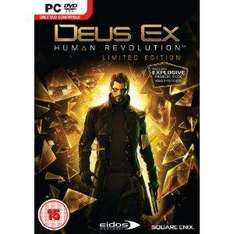 Deus Ex 3: Human Revolution: Limited Edition (PC) - £11.99 @ Amazon