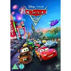 Cars 2 DVD £8.99 @ Sainsburys + Free Delivery + Quidco