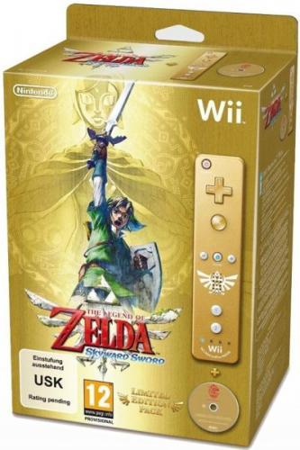 Legend of Zelda: Skyward Sword Limited Edition Bundle - £45.39 or less @ The Hut