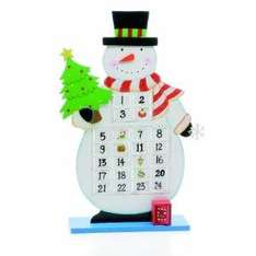 Festive 38cm Freestanding Wooden Snowman Countdown Calender With Revolving Boards Denoting Days Left now £6.75 delivered @ amazon