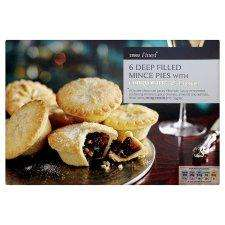 Tesco finest mince pies half price just £1.25