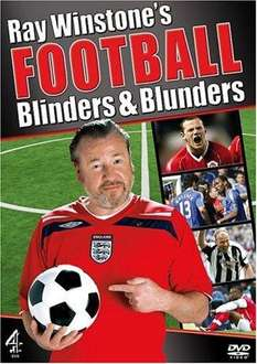 ray winstones' football blunders (preowned) from @ thats entertainment £1.99