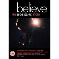 Eddie Izzard - Believe: The Eddie Izzard Story (DVD) £1.49 @ Bee.com