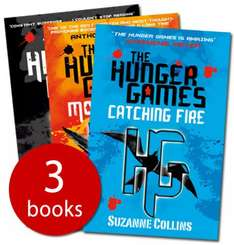 The Hunger Games Trilogy (3 Books) - £4.99 @ The Book People