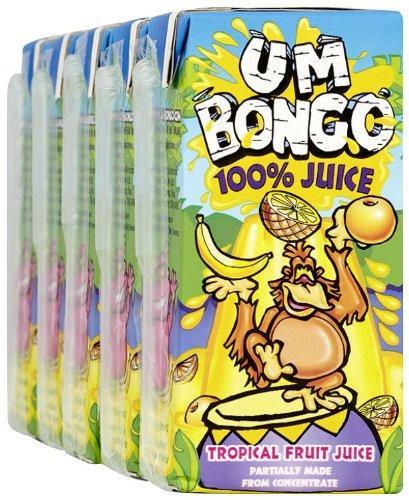 Um bongo Tropical Pure Juice 5 x 200ml (Pack of 6, Total 30 Cartons) £10.86  @ AMAZON
