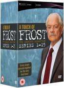 Complete Touch Of Frost : Series 1-15  £49.95 with code @ The Hut