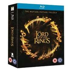 Lord Of The Rings Trilogy Boxset Bluray - £11.49 Delivered @ Bee