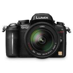 Panasonic Lumix GH2 Digital Camera with 14-140mm Lens Kit  £999.95 + £40 Cashback - Amazon