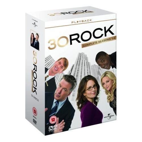 30 Rock: Seasons 1 - 4 Box Set (12 Discs) (DVD) - £14.95 Delivered @ Zavvi
