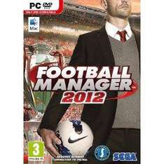 Football Manager 2012- PC and Mac, Amazon only £17.00