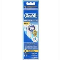 Superdrug Oral B Precision Clean Brush Head Refills x 4 Pack £6.99 delivered plus possible 10.1% cashback plus £5 off with voucher when you spend over £20