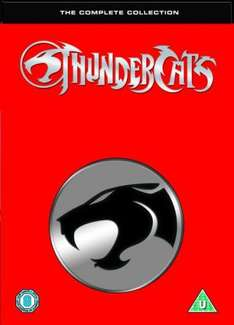 Thundercats: Complete Series 1 & 2: 24DVD Box Set only £14.95 delivered @ Zavvi