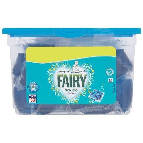 Fairy Non Bio Laundry Liquitabs for Sensitive Skin 33 Washes £5.40 Delivered @ Amazon.co.uk