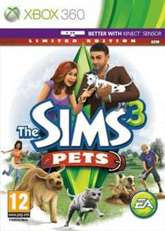 The Sims 3 Pets (Limited Edition) on XBox360 for £22.99 @ Game