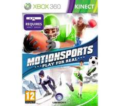MICROSOFT Motion Sports - for Xbox 360 Kinect @ Dixions £9.99