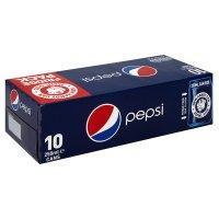 Pepsi fridge pack 10 x 250ml cans reg/max/diet £2.00 @ Co-op