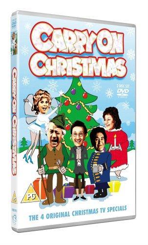 Carry On Christmas DVD £3.89 at Zavvi (All 4 Festive Specials)