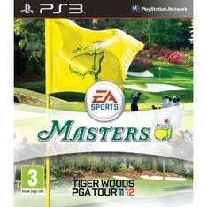 Tiger Woods PGA Tour 12 : The Masters PS3 £12.99 Delivered @Amazon