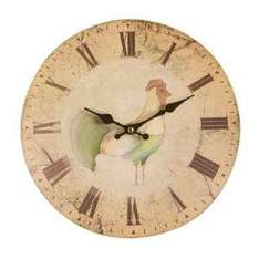 Premier Housewares Home To Roost Wall Clock,29 cm £4.01 Del From Amazon