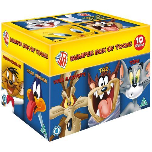 Looney Tunes (Warner Bros) Big Faces Box Set [10 DVD Boxset] £16.99 delivered @ Bee
