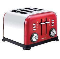 Morphy Richards Accents Red 4 slice Toaster £28.79 @ Best Buy