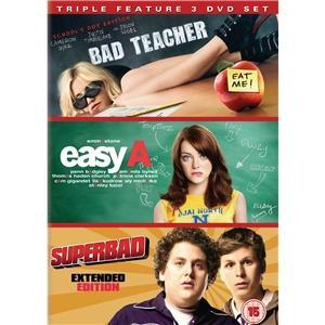 Bad Teacher/Easy A/Superbad Boxset £10.99 !!! @ Play