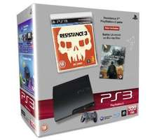 Sony PS3 Console: 320GB With Resistance 3 And Battle LA Blu-ray - only £199.99 delivered (using code BBY) @ BestBuy