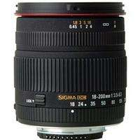 Sigma 18-200mm f/3.5-6.3 DC Lens - Sony/Minolta Fit  £161.99 enter code: BBY to reduce to £129.59 + P&P